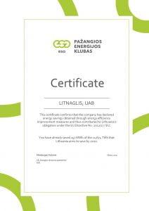 ESO certificate