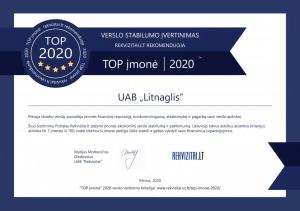 top imone sertfikatas